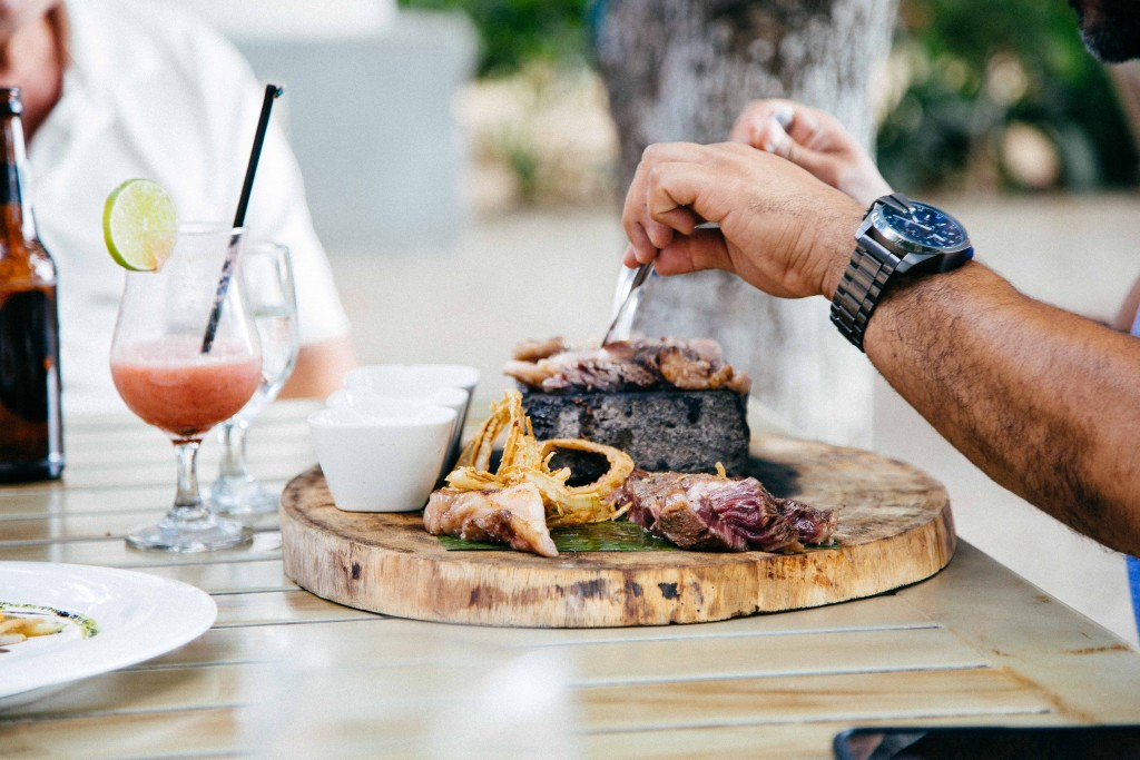 Pangas Beach Club Steak