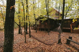 weekend cabin getaway broken bow