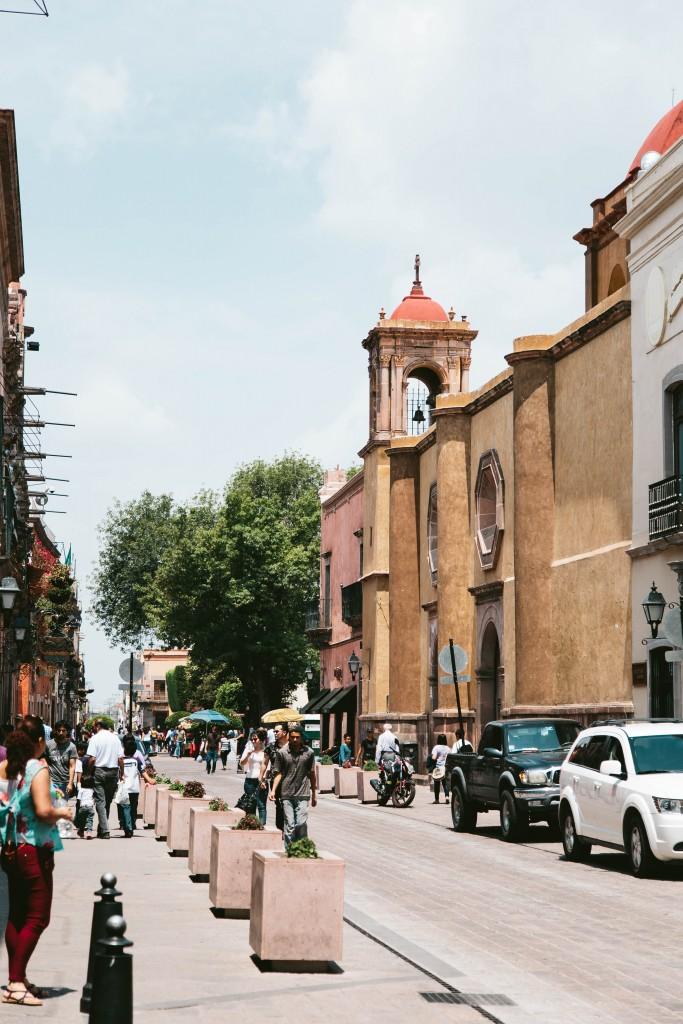 queretaro mexico streets