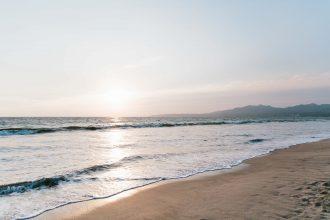 Nuevo Vallarta beach Mexico