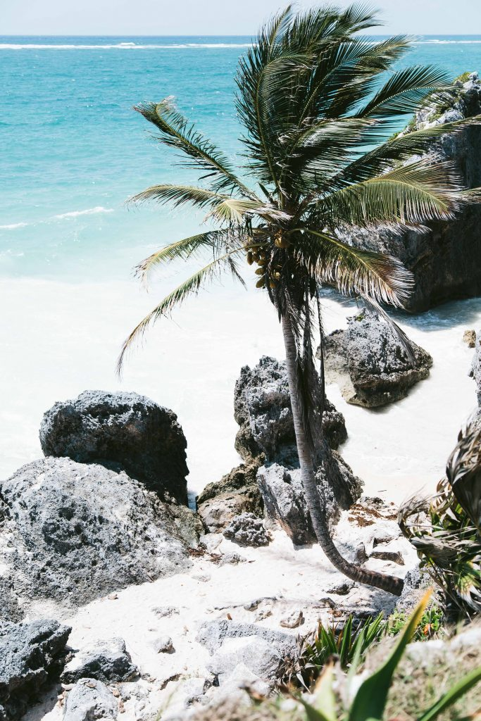 tulum ruins mexico beach
