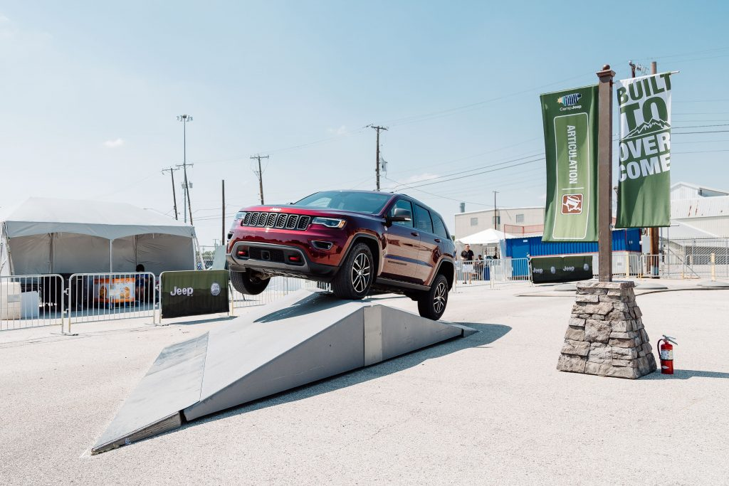 Taste of Dallas and Jeep
