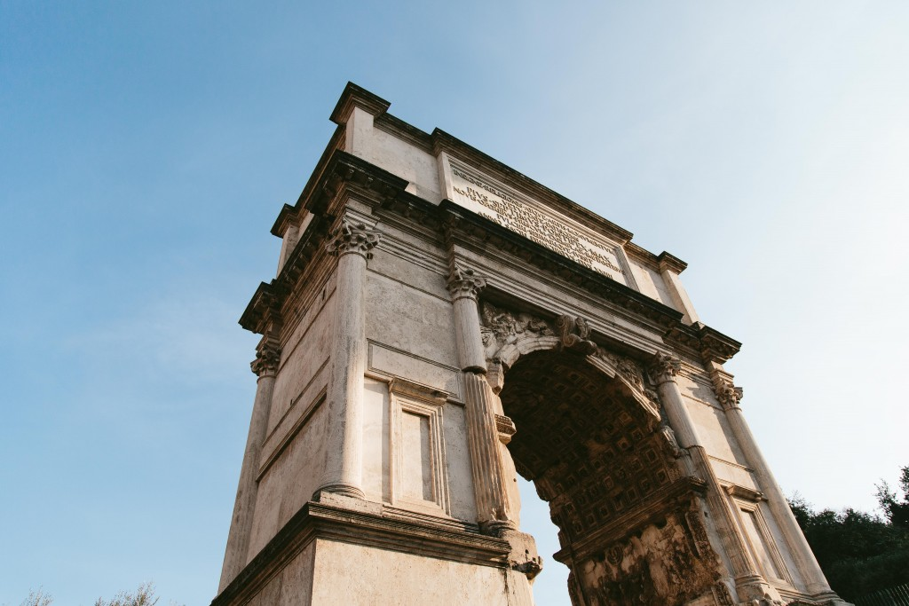 rome italy arch
