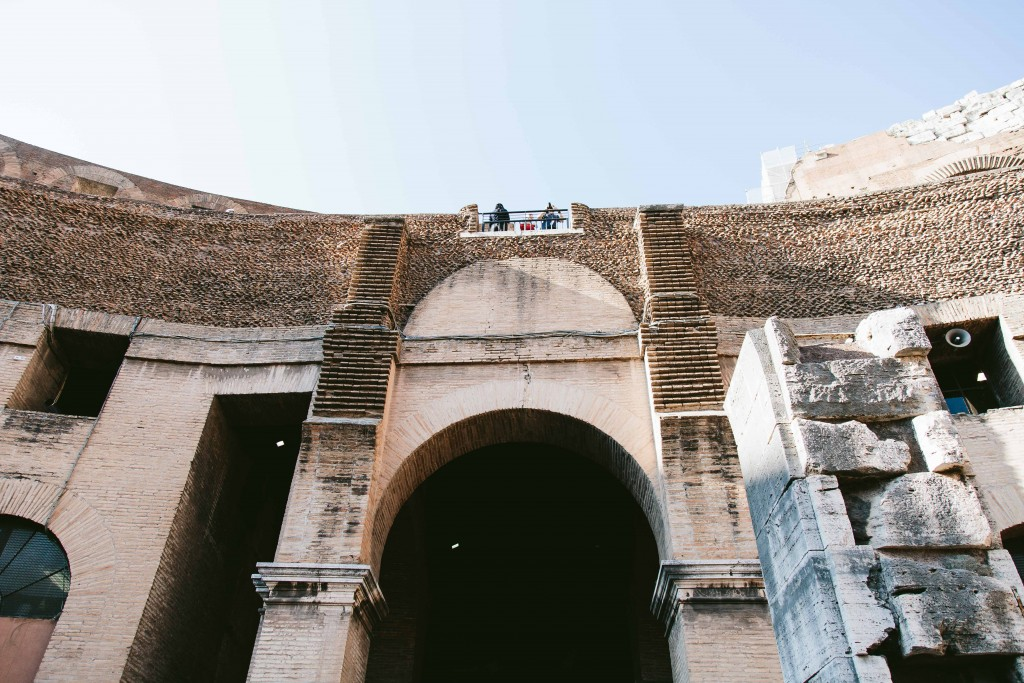 rome coliseum arches