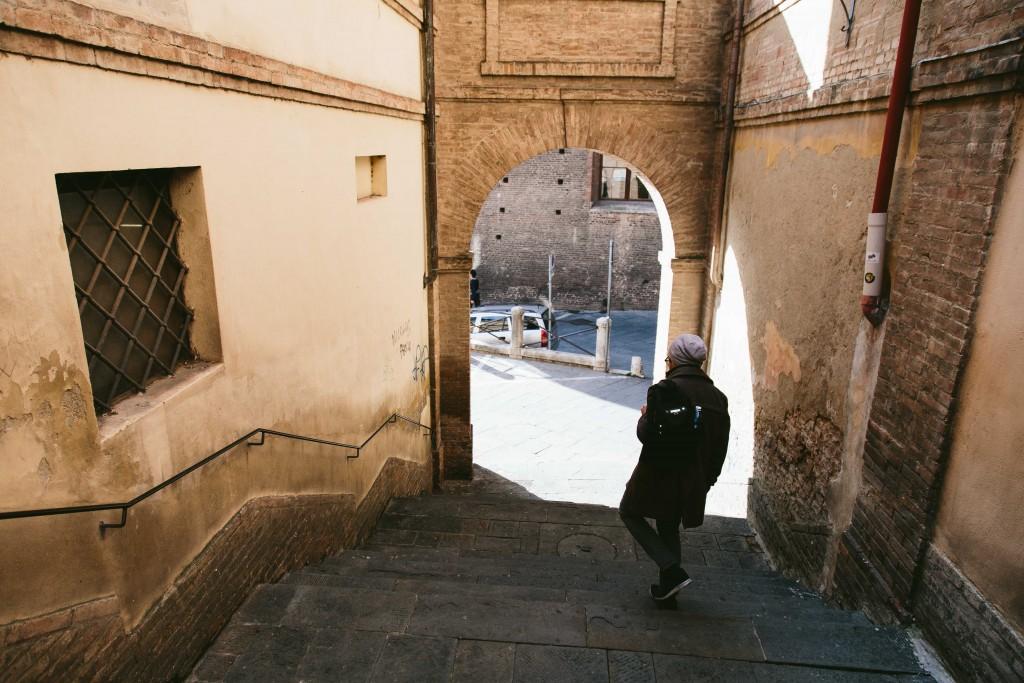 siena italy walking