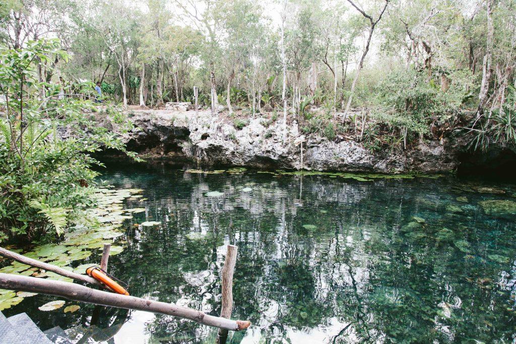 Cenote Nicte-Ha Mexico