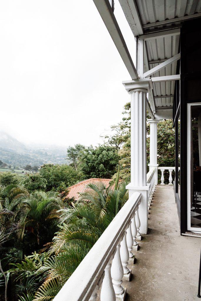 Escazu mountainside Costa Rica