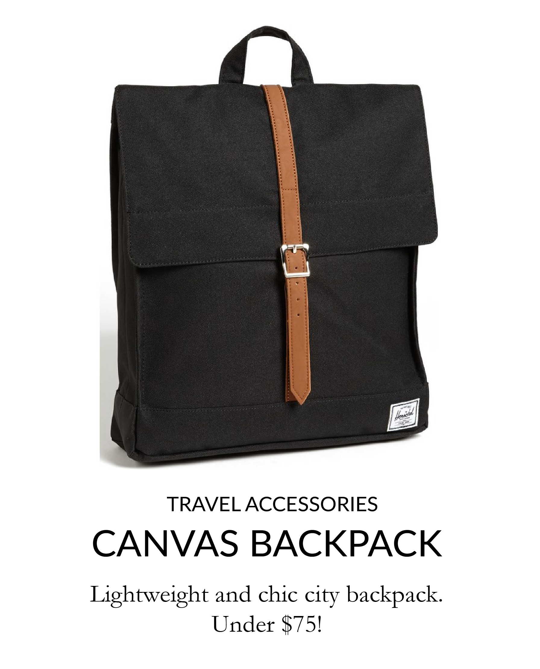 herschel supply canvas city backpack