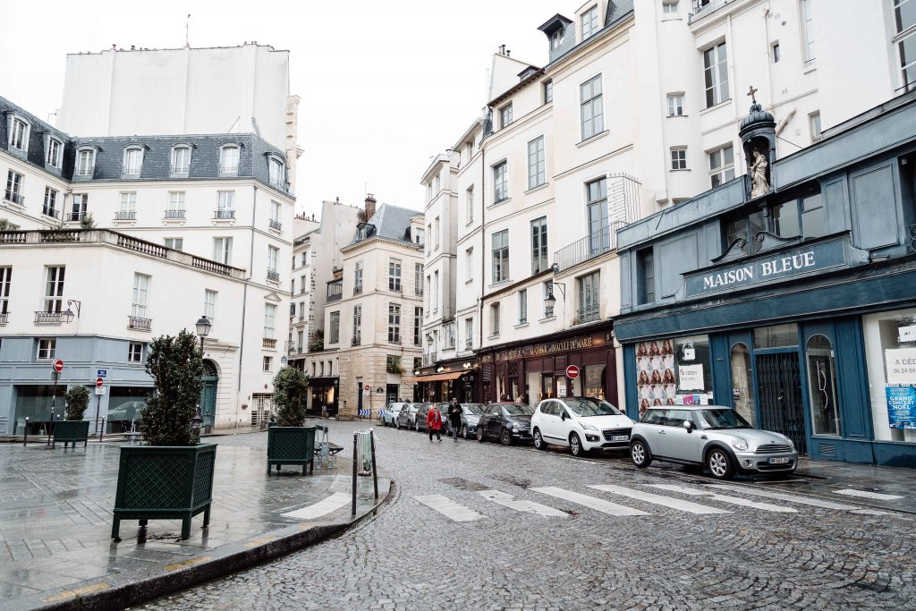 streets in paris france