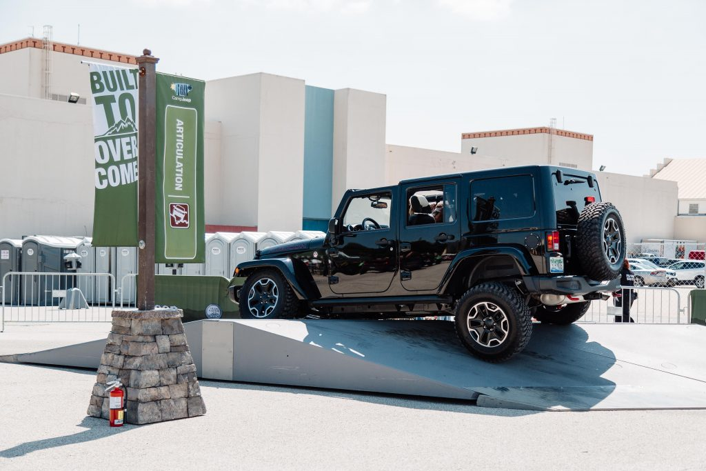 Taste of Dallas Camp Jeep