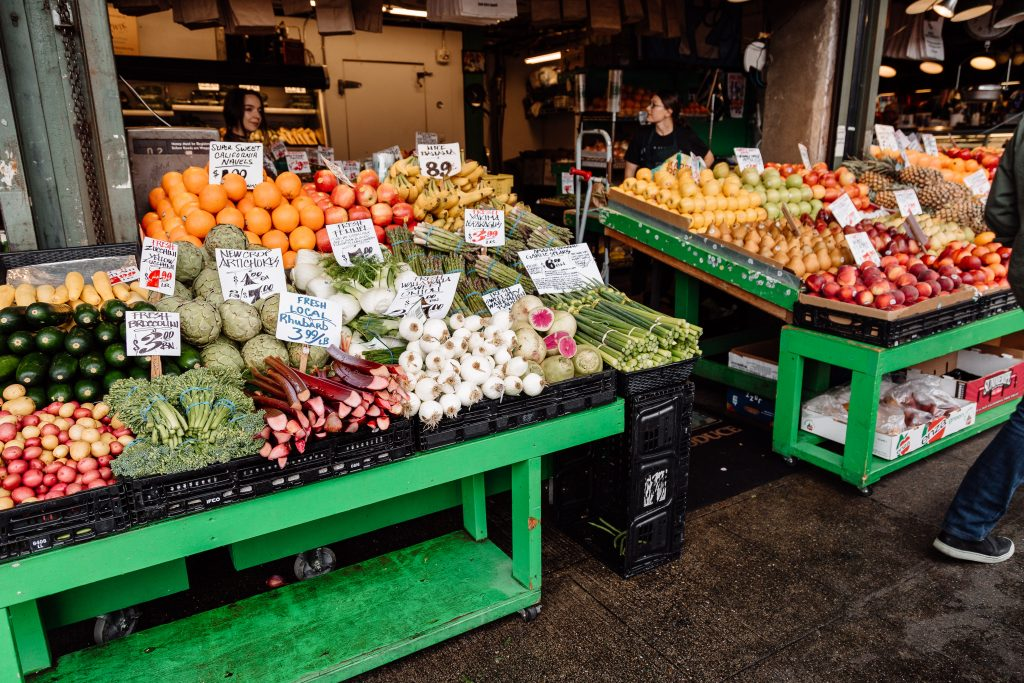 pike place market fruit seattle